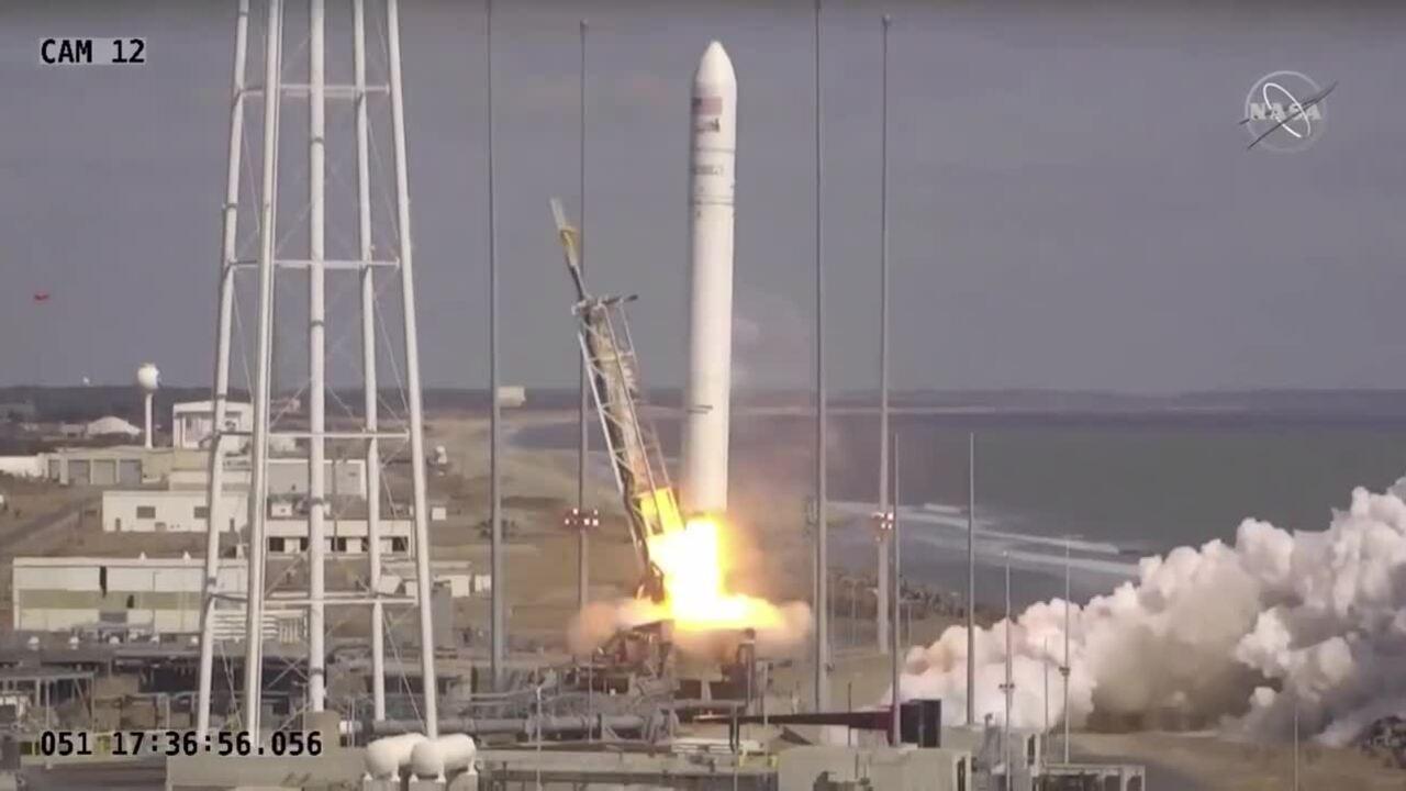 Northrop Grumman phóng tàu tiếp tế tới ISS