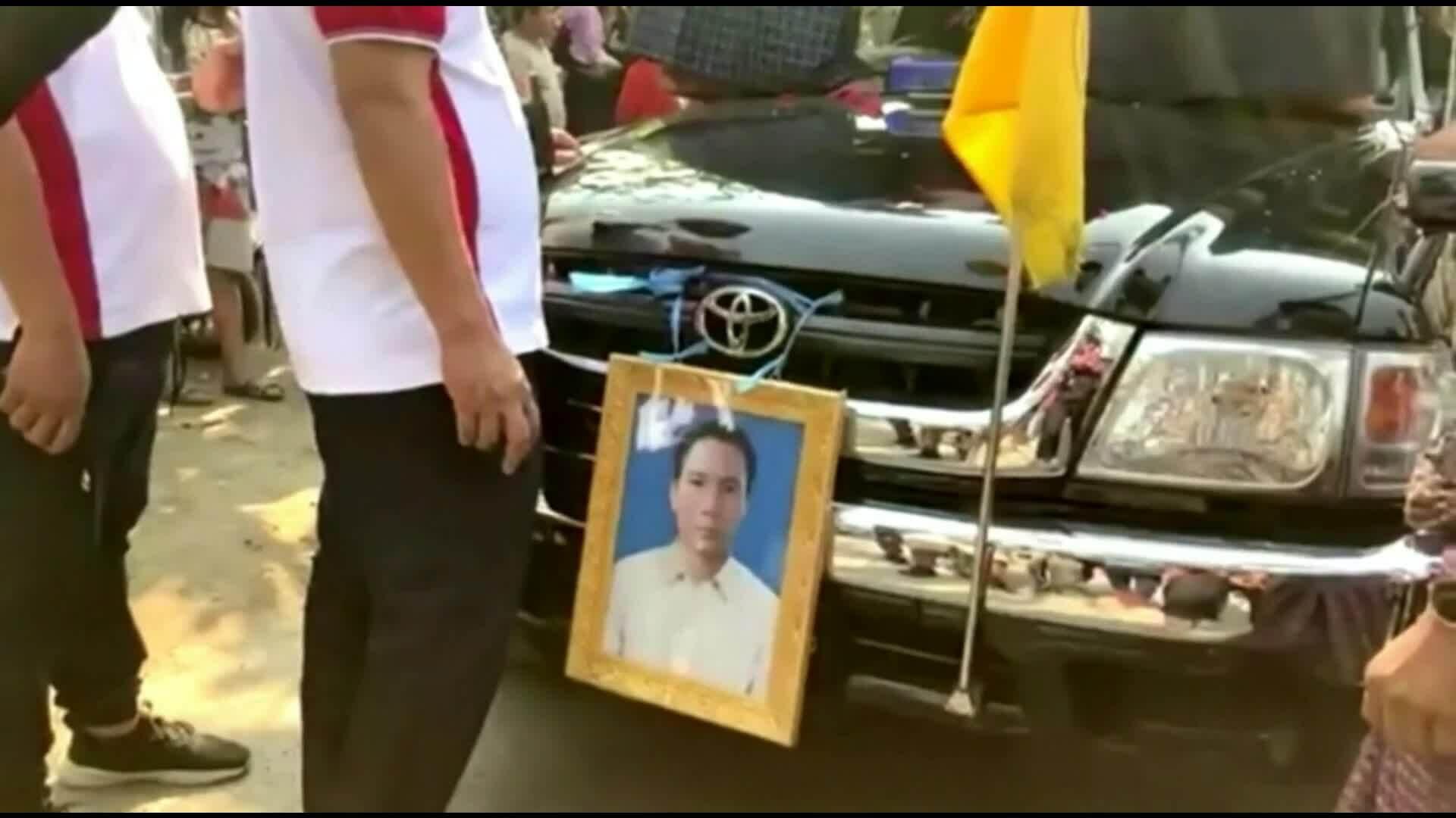 Đám tang một người biểu tình Myanmar