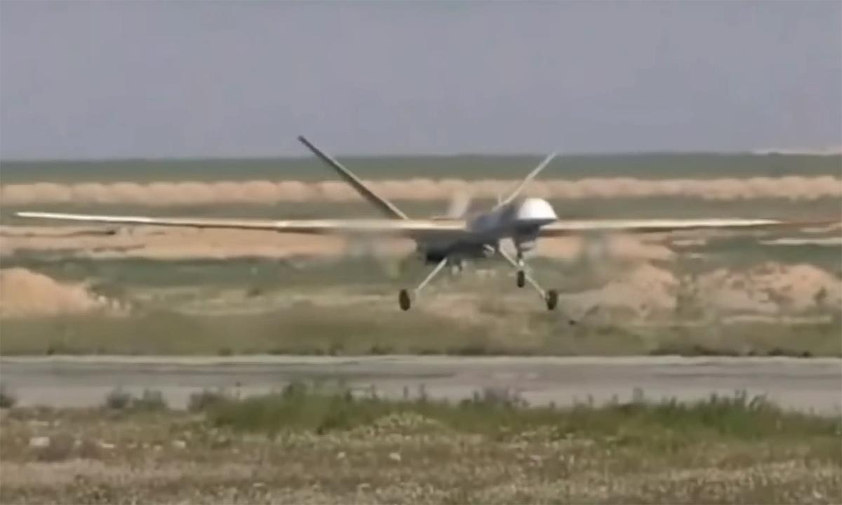 Nga công bố video UAV vũ trang không kích phiến quân Syria