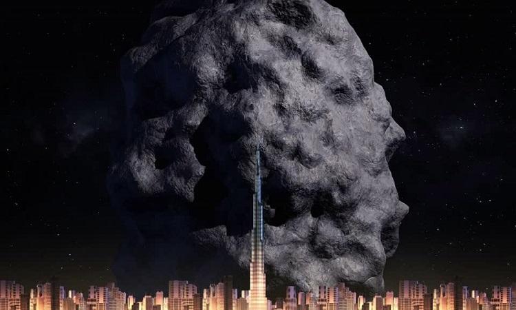 Tiểu hành tinh to gấp đôi tháp Burj Khalifa bay qua Trái Đất
