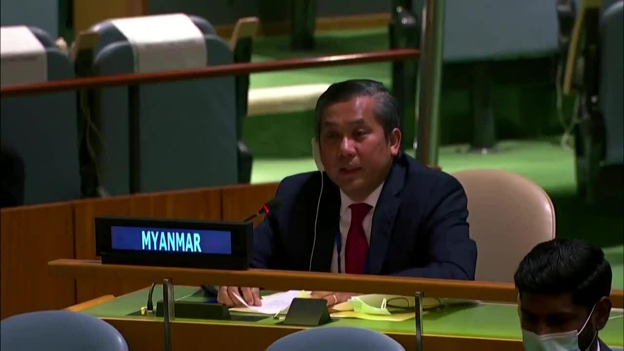 Đại sứ Myanmar tại LHQ nghẹn ngào phản đối đảo chính