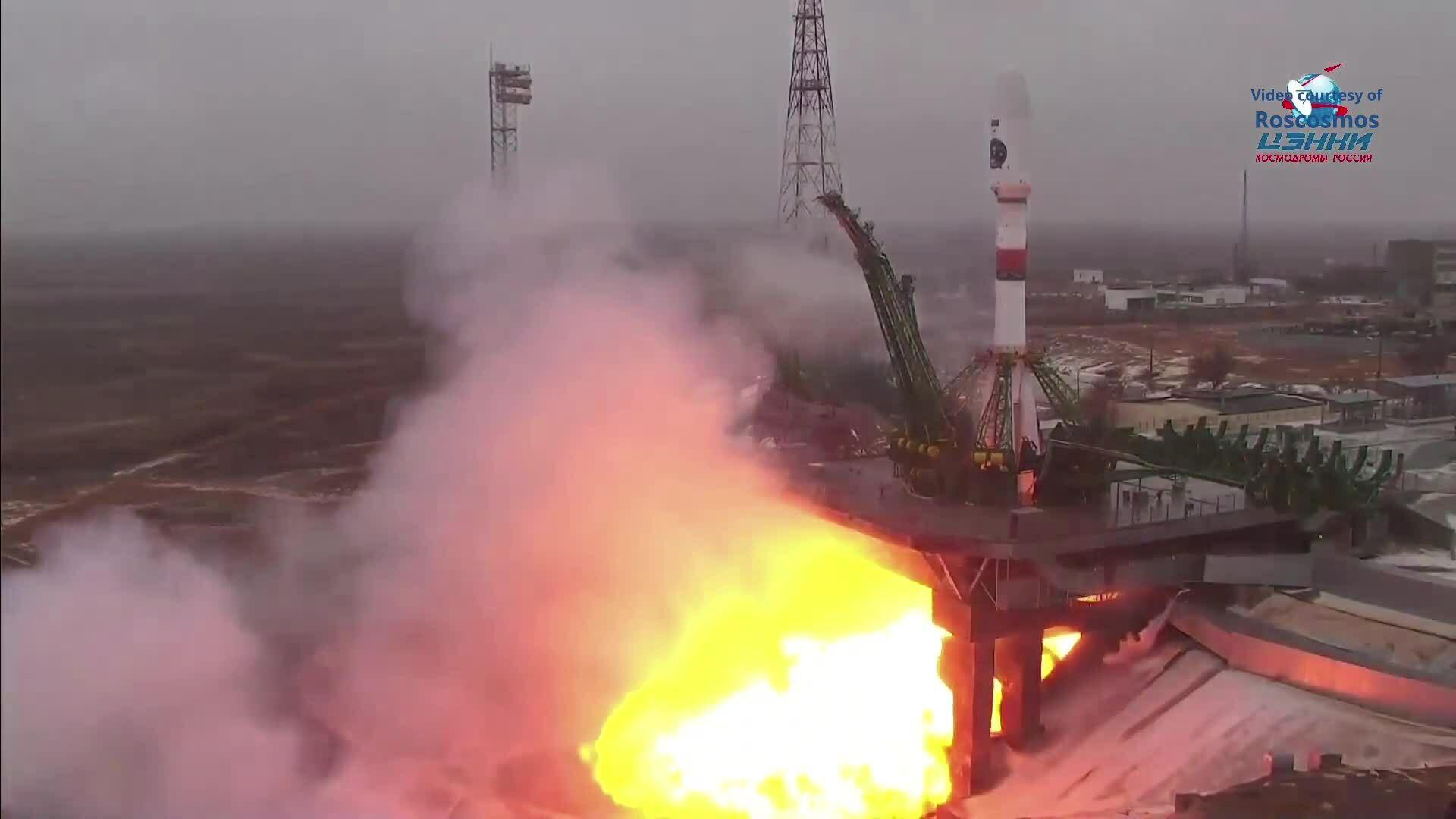 Nga phóng vệ tinh viễn thám Bắc Cực đầu tiên
