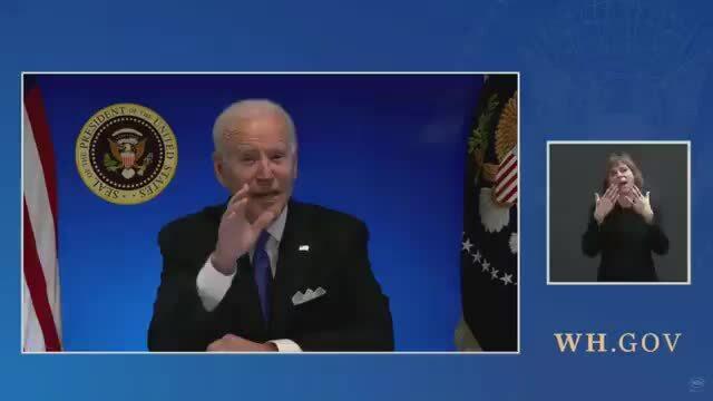Nhà Trắng cắt sóng khi Biden muốn trả lời câu hỏi