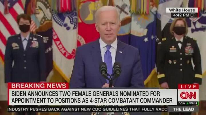 Biden quên tên Bộ trưởng Quốc phòng