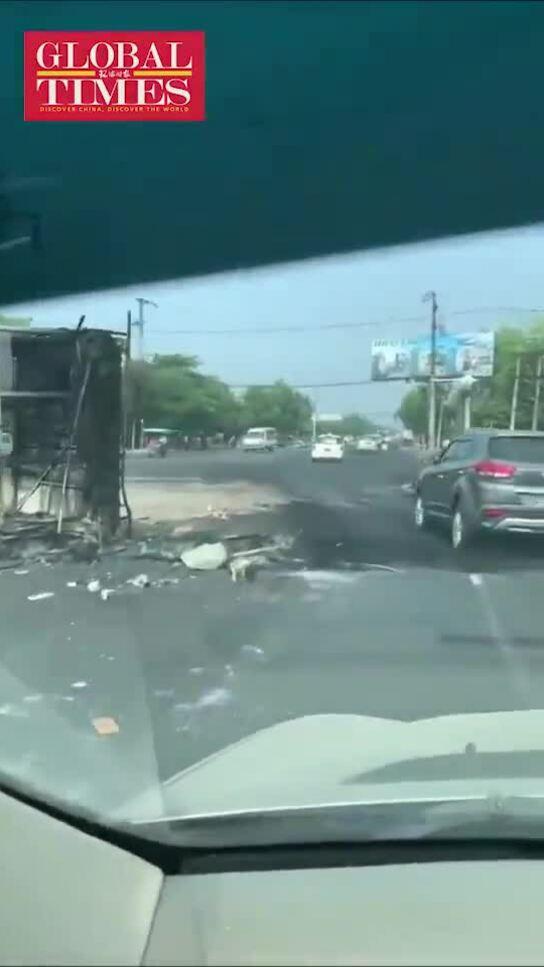 32 nhà máy vốn Trung Quốc ở Myanmar bị đập phá