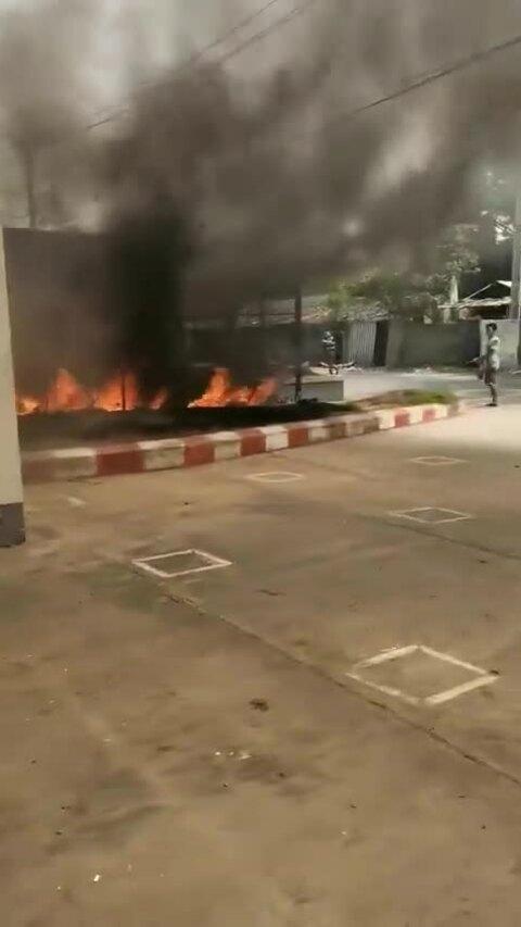 Nhà máy Trung Quốc bị đốt phá, 38 người biểu tình Myanmar thiệt mạng