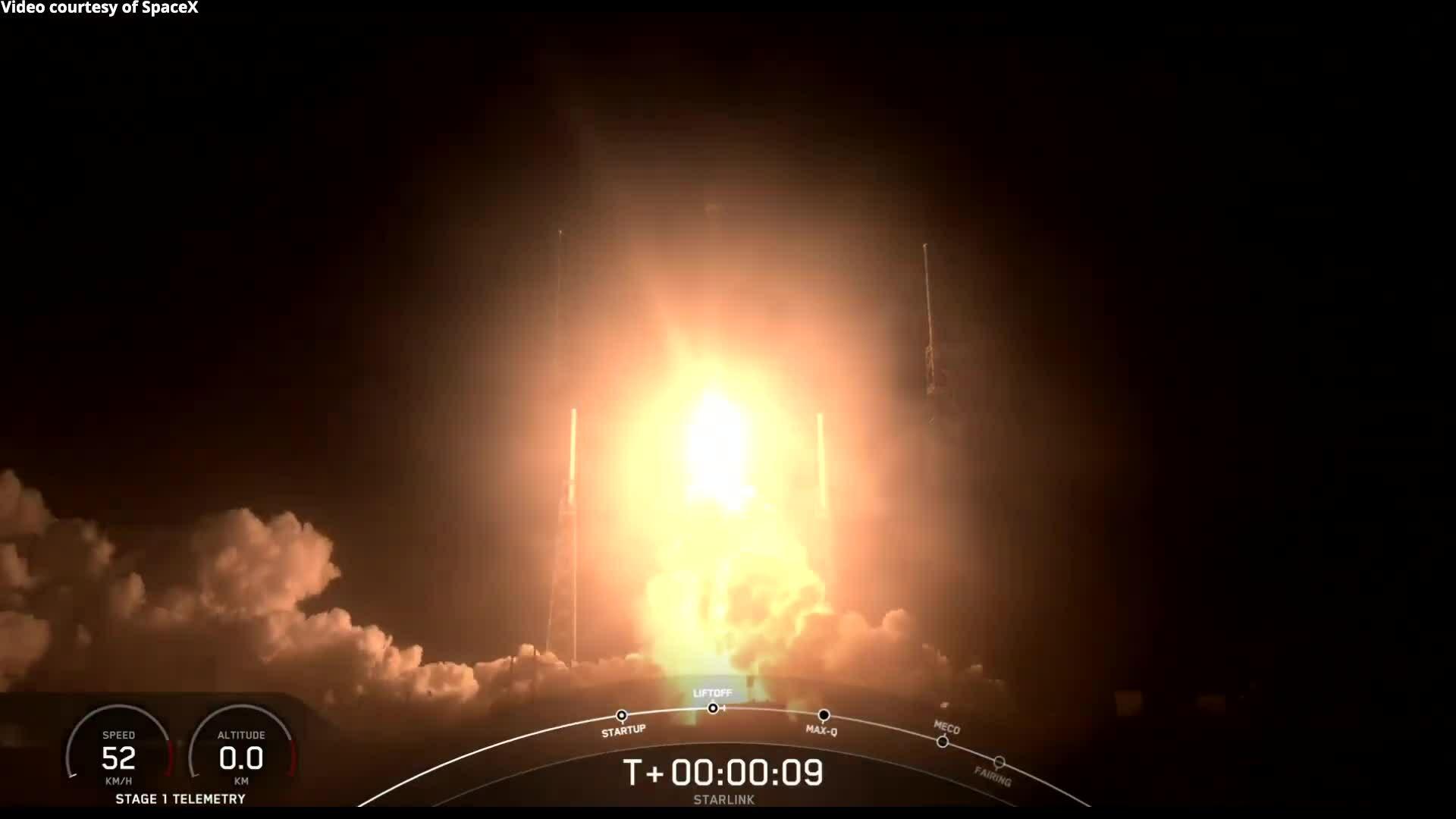 SpaceX hoàn thành 4 sứ mệnh Starlink trong một tháng