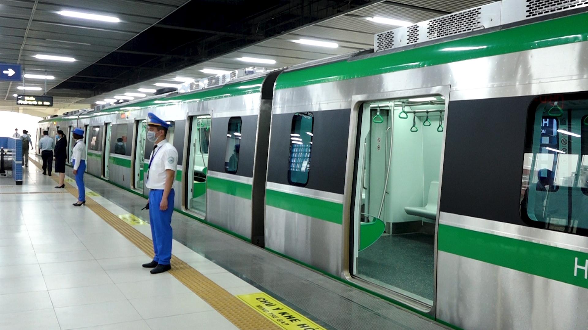 Đường sắt Cát Linh - Hà Đông trước ngày bàn giao