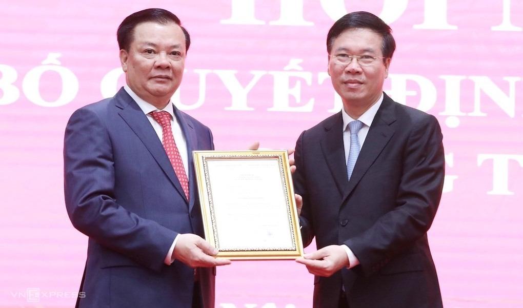 Tân Bí thư Thành ủy Hà Nội