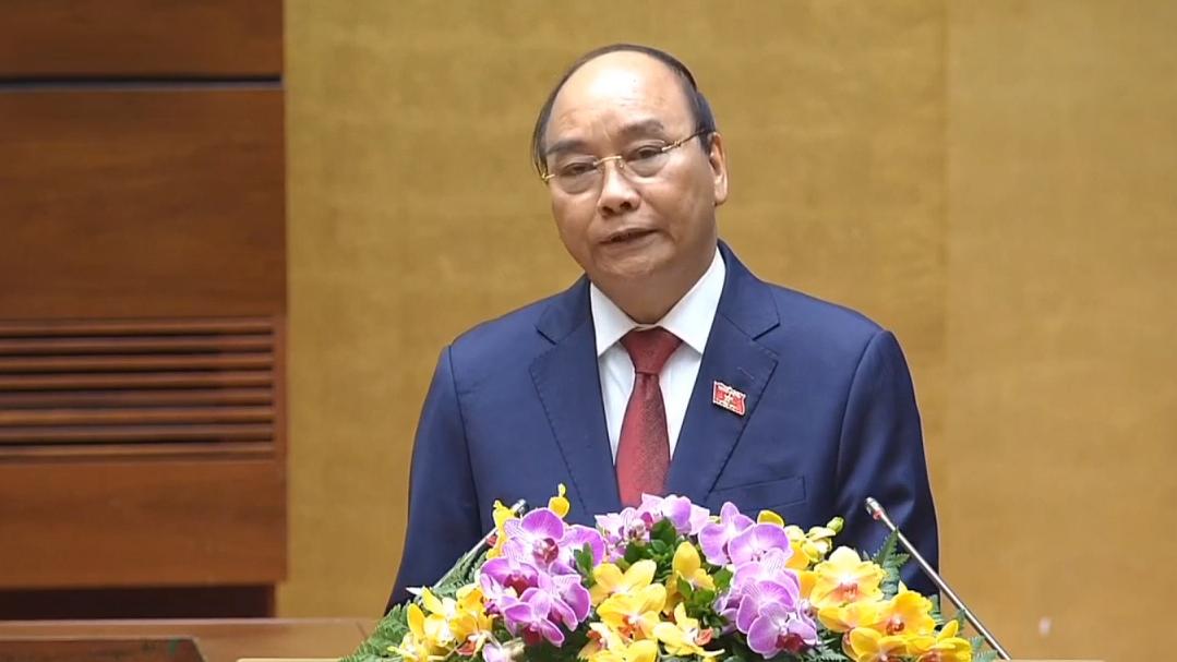 Video Chủ tịch nước Nguyễn Xuân Phúc phát biểu nhận nhiệm vụ