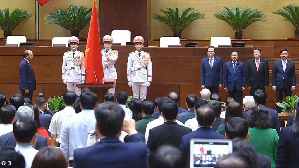 Video Lễ tuyên thệ Tân Chủ tịch nước Nguyễn Xuân Phúc
