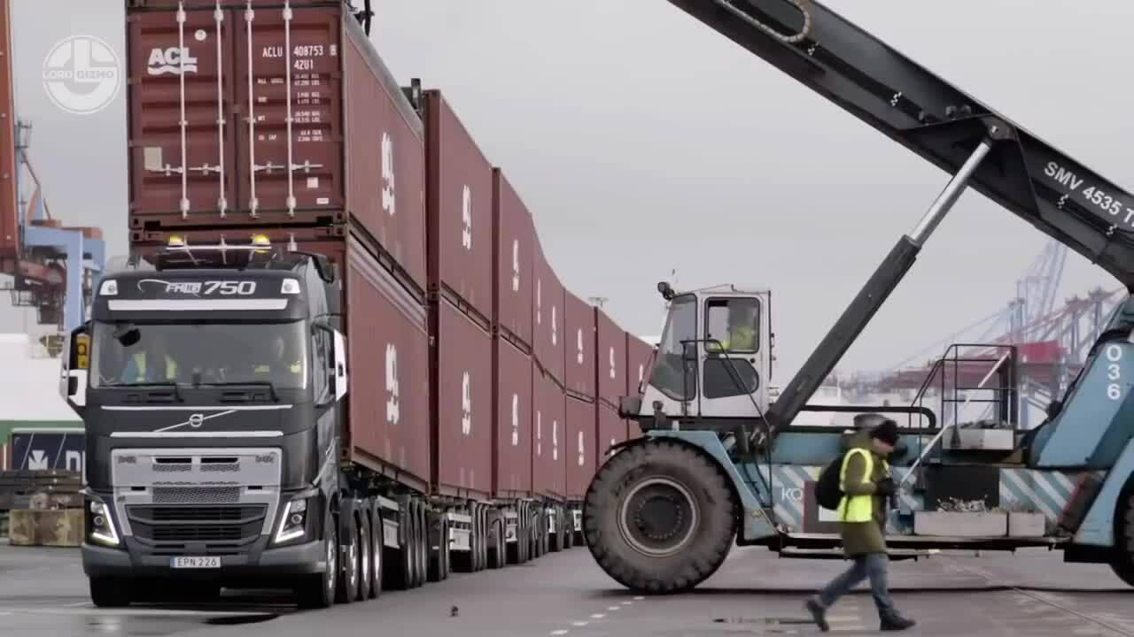 Những cỗ xe đầu kéo lớn nhất thế giới