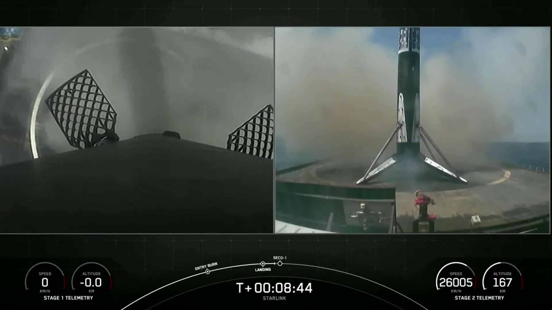 SpaceX sắp hoàn thành mạng lưới Starlink ban đầu