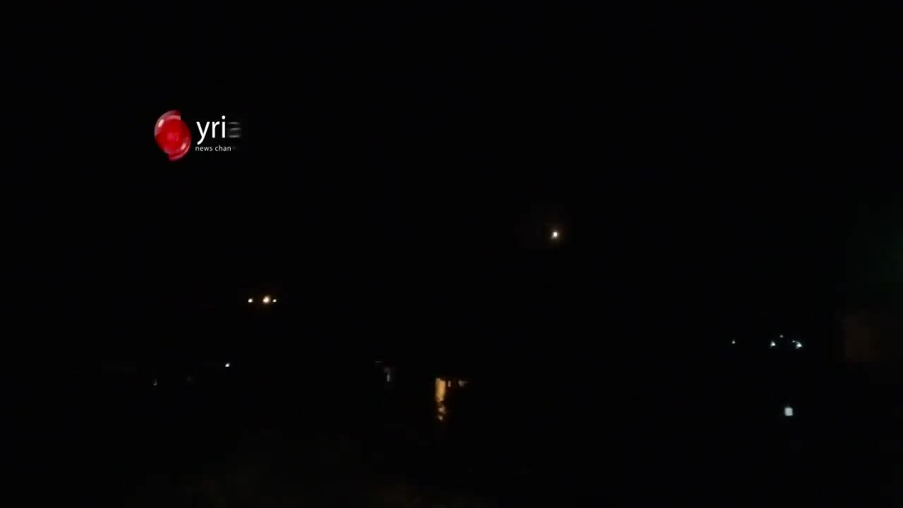 Syria đánh chặn loạt tên lửa Israel