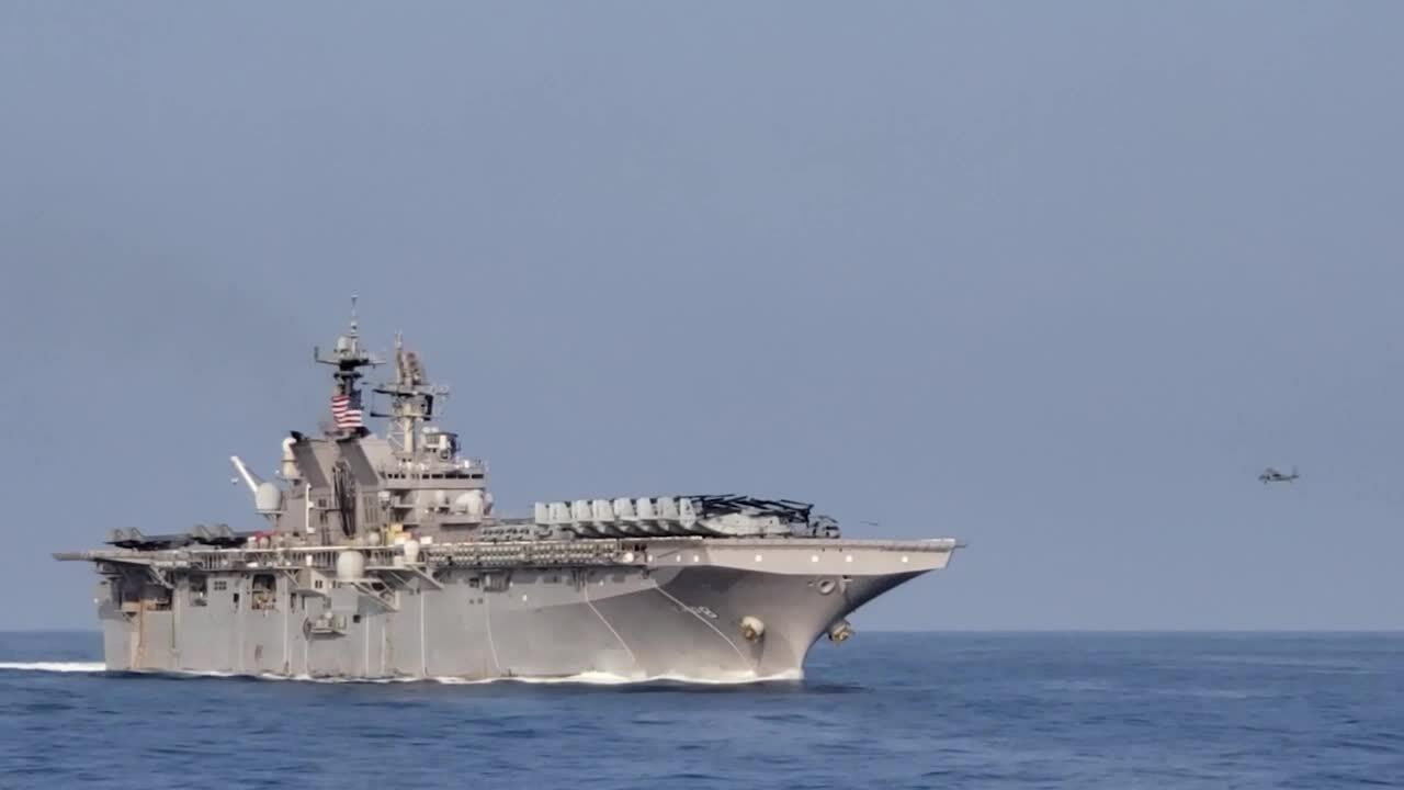 Mỹ điều thêm tàu sân bay trực thăng vào Biển Đông