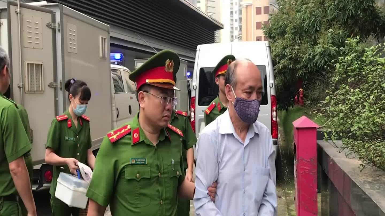 Video xét xử vụ án Gang thép Thái Nguyên