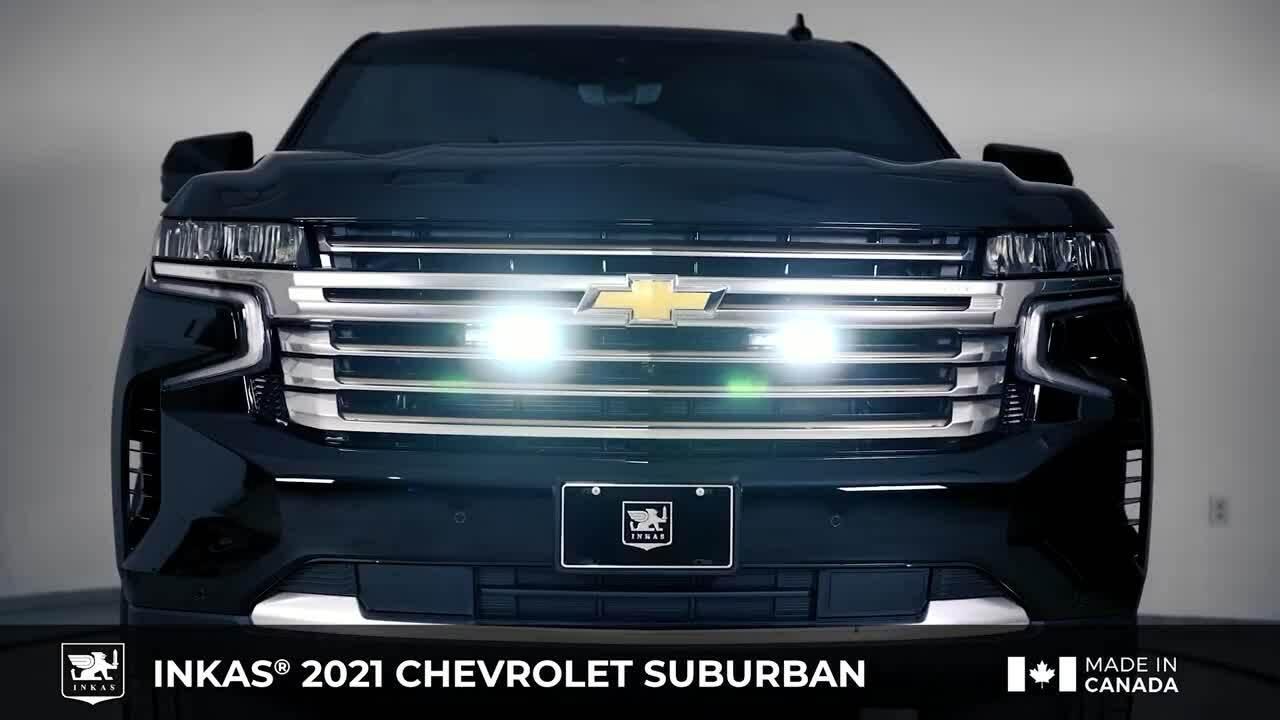 Chevrolet Suburban 2021 bọc thép