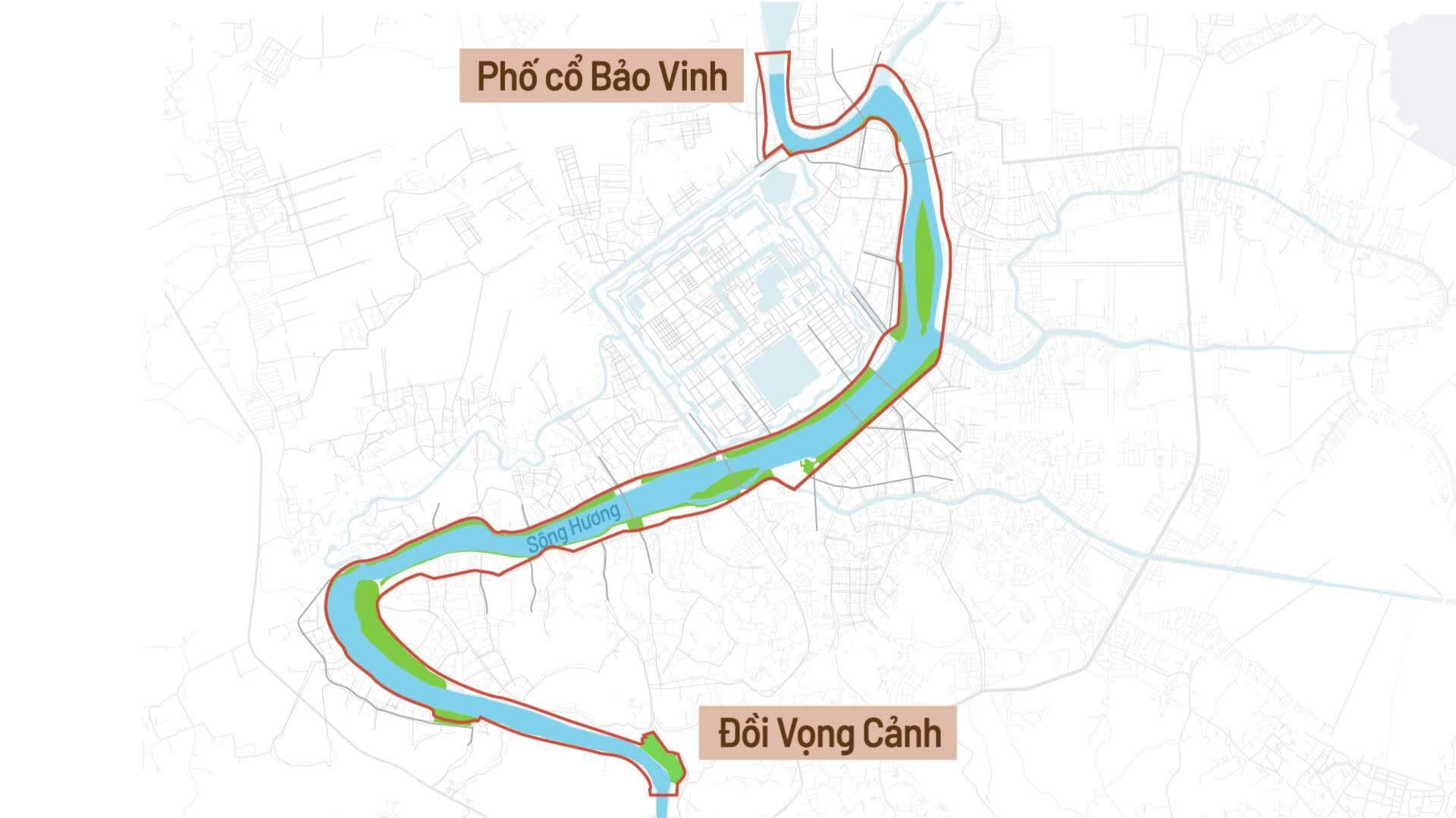 Hai bờ sông Hương quy hoạch thế nào?
