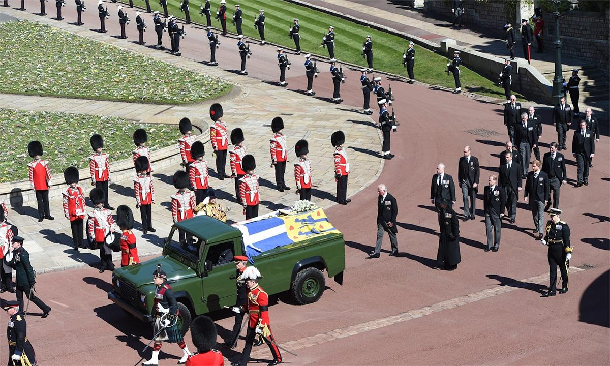 Hoàng gia Anh tiễn đưa Hoàng thân Philip