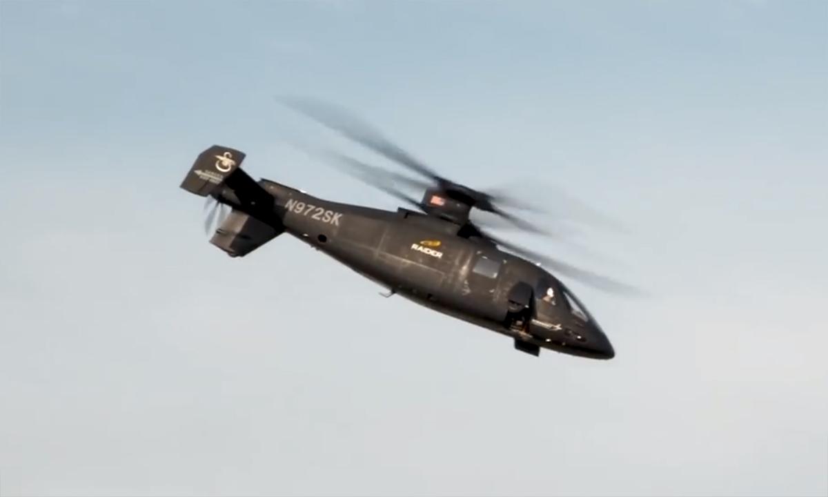 Trực thăng tương lai trình diễn trước mặt lính Mỹ