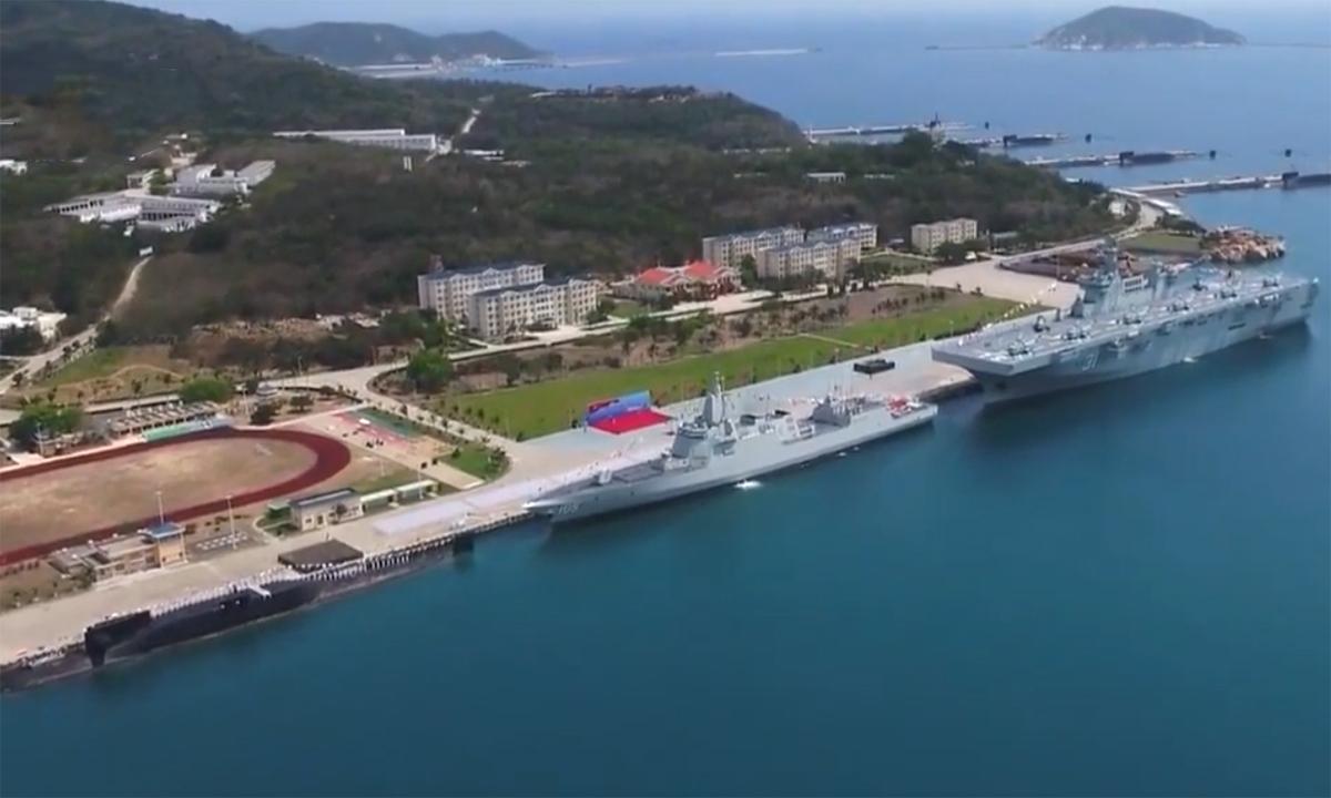 Trung Quốc biên chế cùng lúc ba chiến hạm cỡ lớn