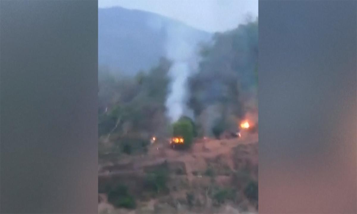 Phiến quân Myanmar đánh úp tiền đồn quân chính phủ