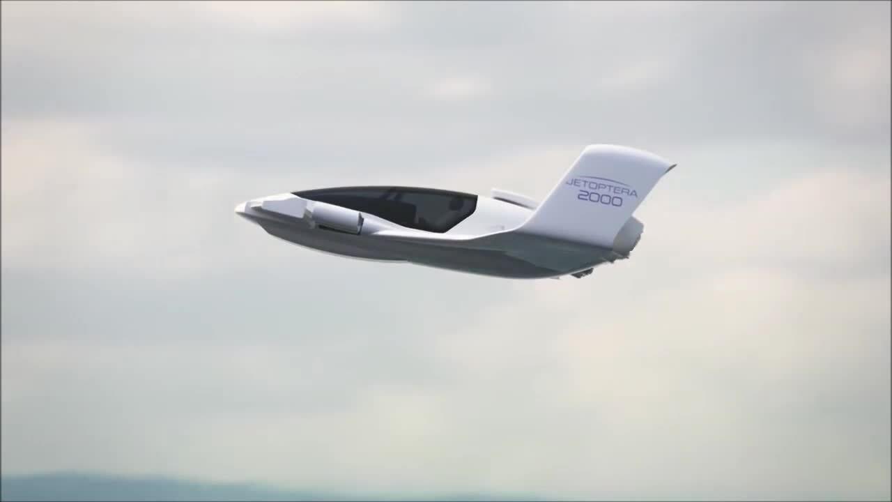 Máy bay cất hạ cánh thẳng đứng 'không cánh quạt'