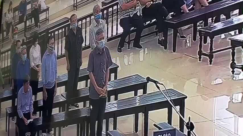 Video tuyên án Vũ Huy Hoàng