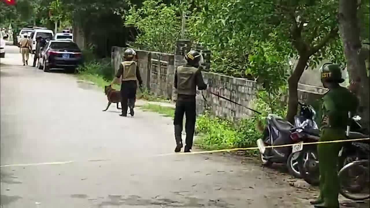 Phong tỏa hiện trường vụ nổ súng