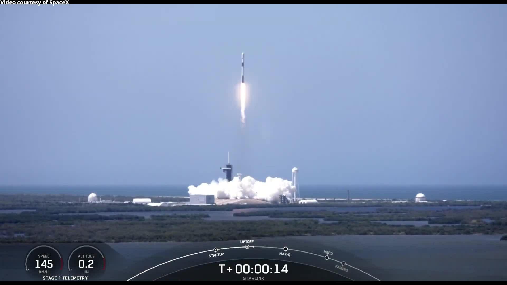 SpaceX hoàn thành mạng lưới Starlink giai đoạn đầu