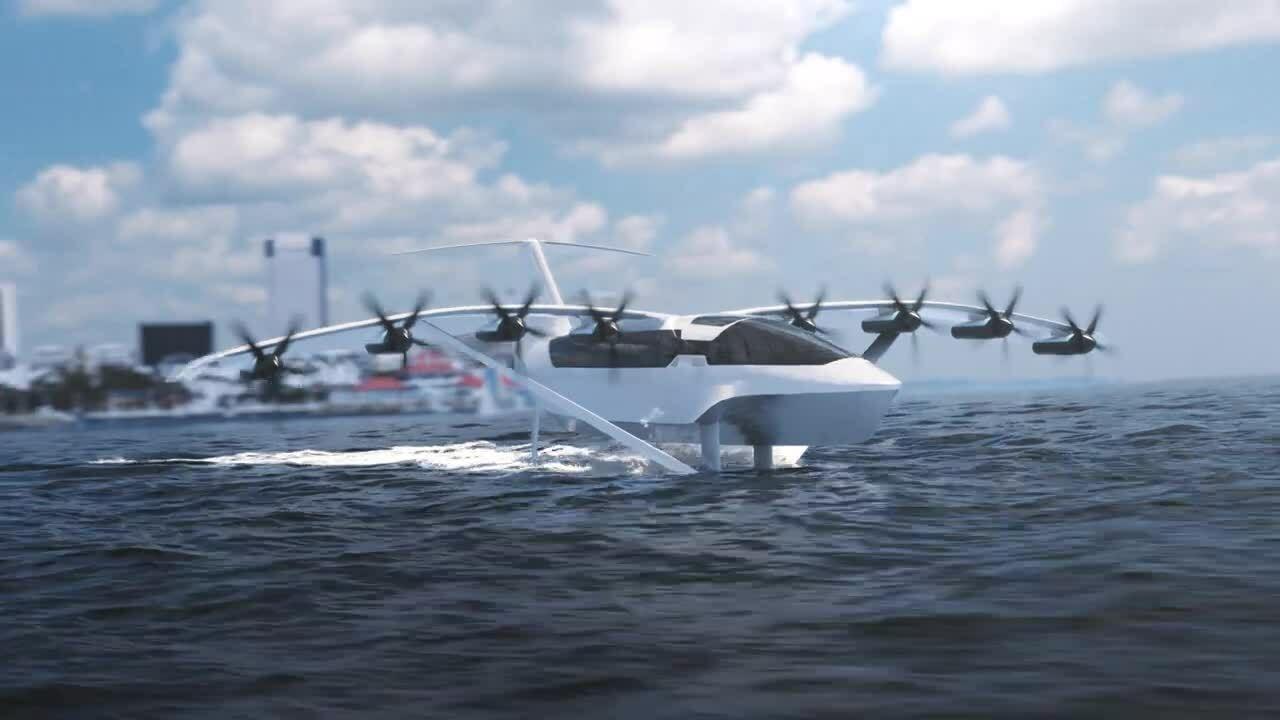 Thủy phi cơ điện tốc độ 290 km/h