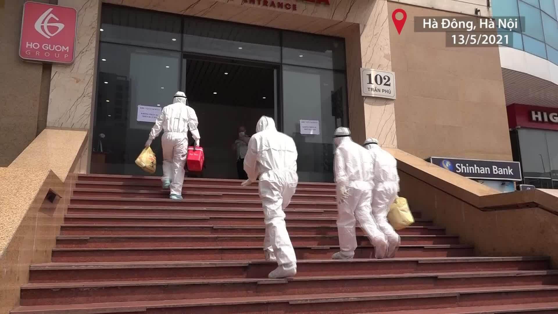 Phong tỏa hai chung cư vì hai ca nhiễm Covid-19 liên quan Bệnh nhân 3634