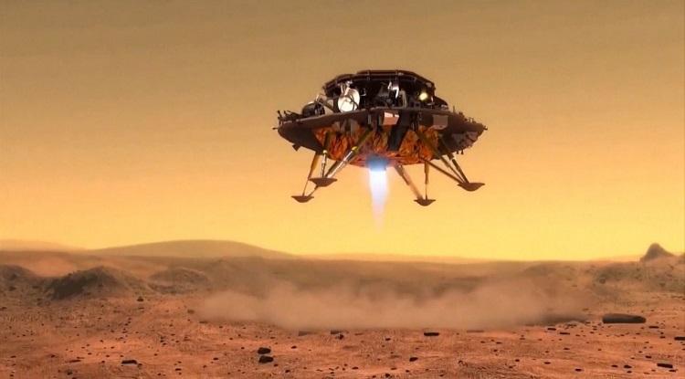 Tàu thăm dò Trung Quốc sẽ tìm hiểu sự tiến hóa của sao Hỏa