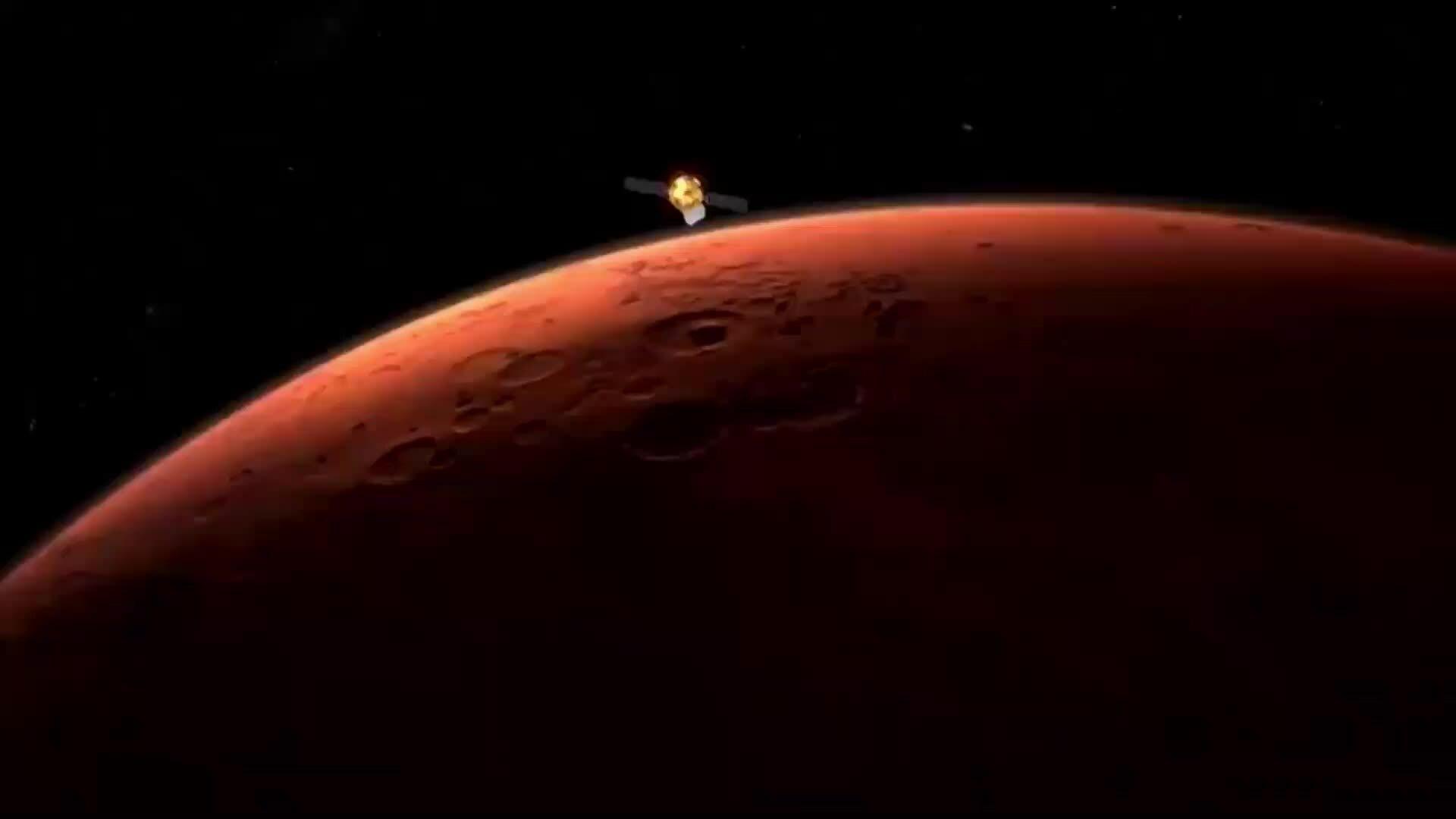 Tàu Trung Quốc đáp thành công xuống sao Hỏa