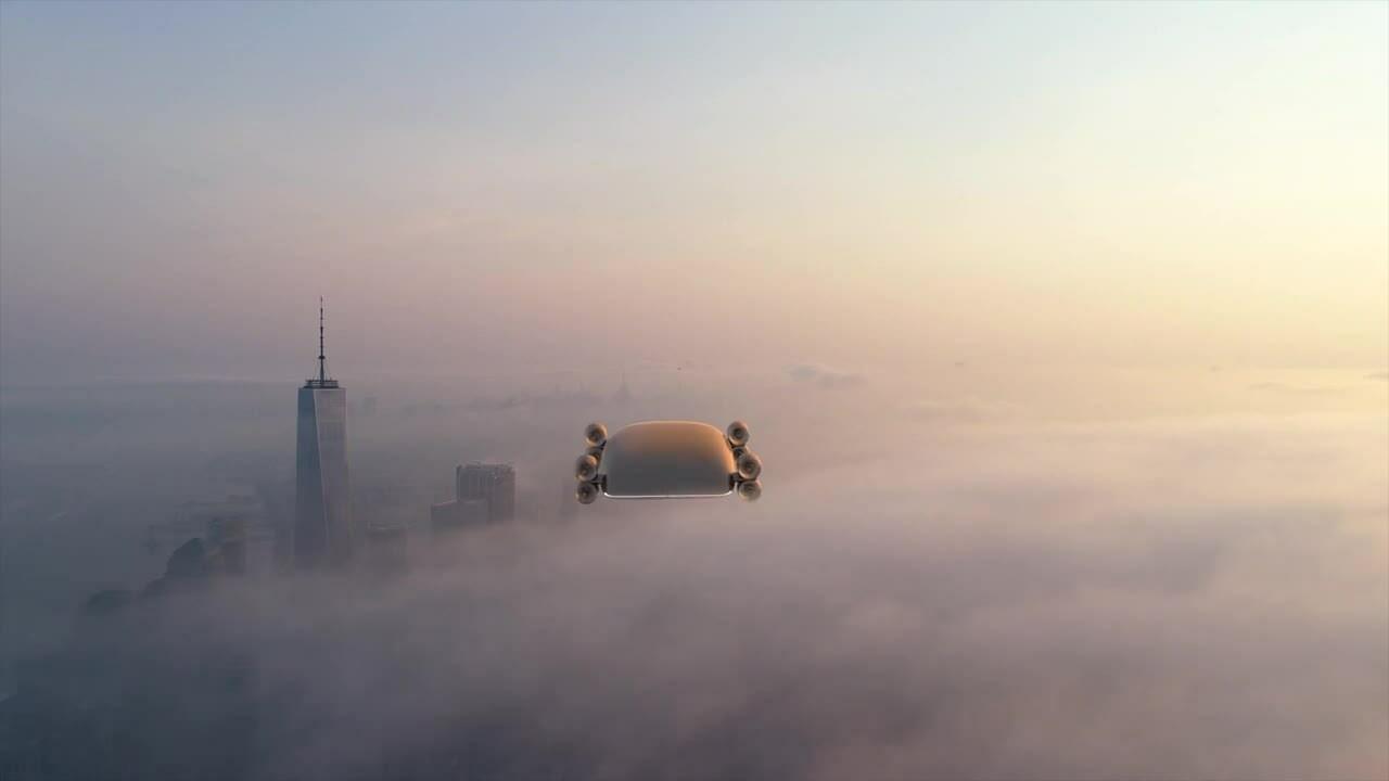Xe buýt bay 40 chỗ vận tốc hơn 500 km/h
