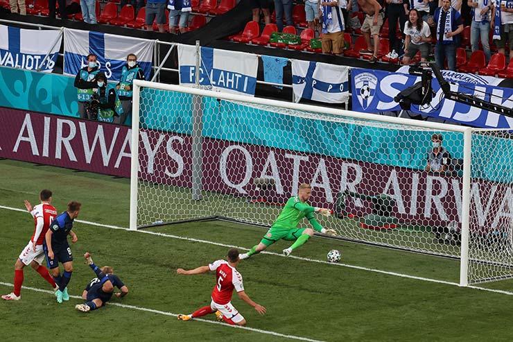 Đan Mạch 0-1 Phần Lan