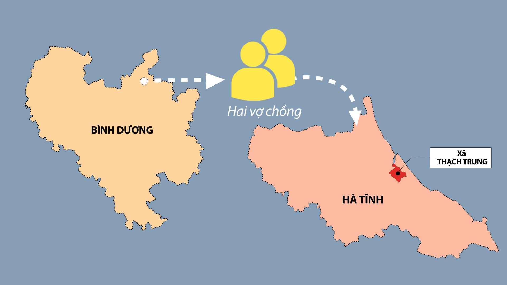 3 chuỗi lây Covid-19 ở Hà Tĩnh