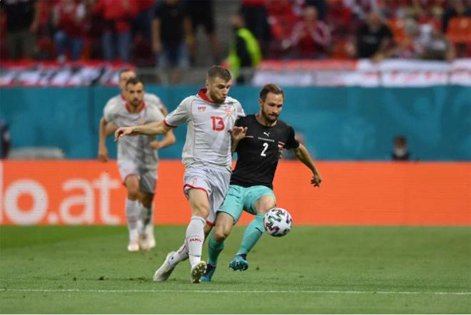 Lainer mở tỷ số cho đội tuyển Áo