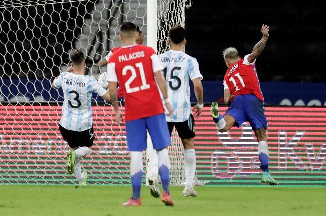 อาร์เจนตินา 1-1 ชิลี