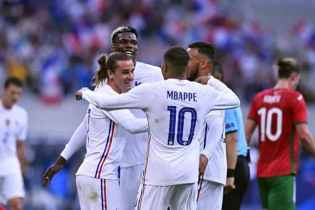 Hungary 1-1 Pháp