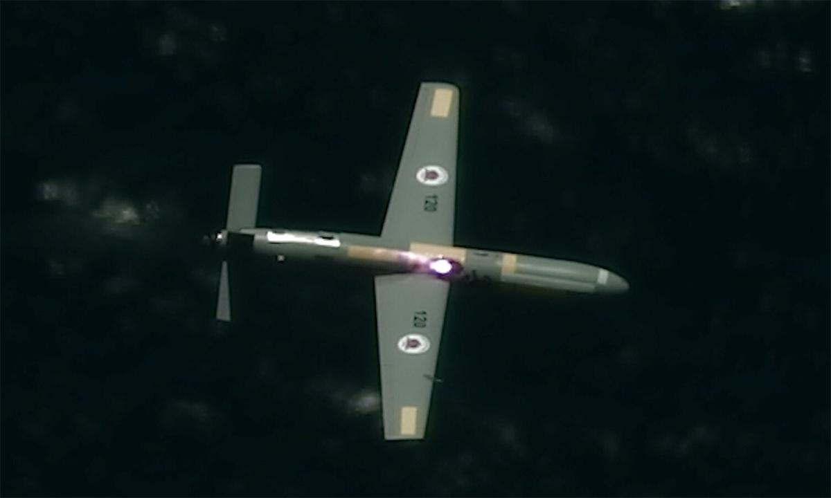 Máy bay Israel dùng vũ khí laser hạ UAV