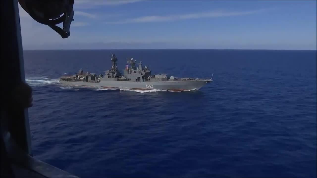 Nga công bố video diễn tập tấn công tàu sân bay gần Mỹ