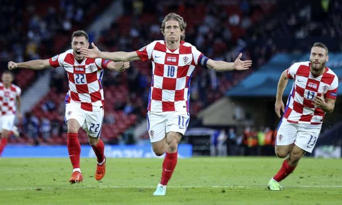 Croatia 3-1 Scotland