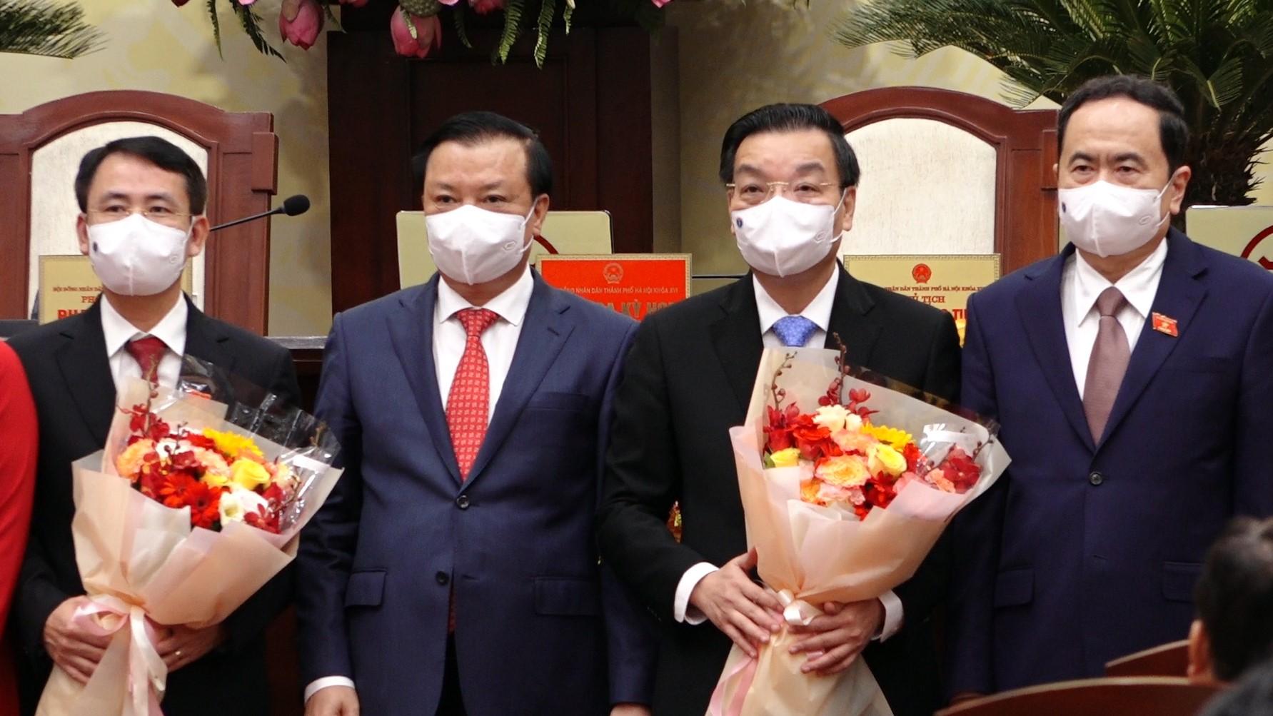 Ông Chu Ngọc Anh tiếp tục được bầu làm Chủ tịch Hà Nội