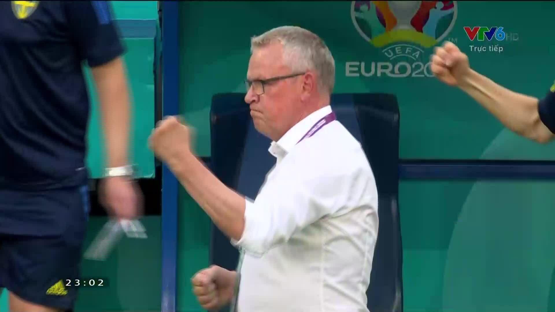 Swedia 1-0 Polandia