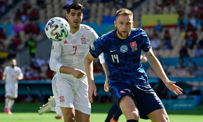 Slovakia 0-5 Spanyol