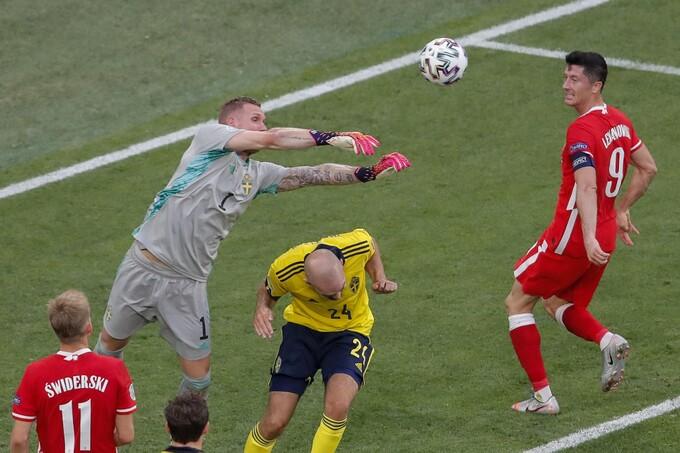 Thụy Điển 2-2 Ba Lan