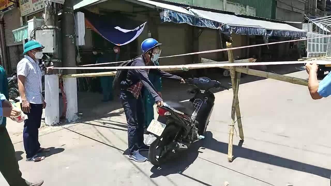 Ổ dịch chợ đầu mối Vinh lớn, tạm phong tỏa 2 phường