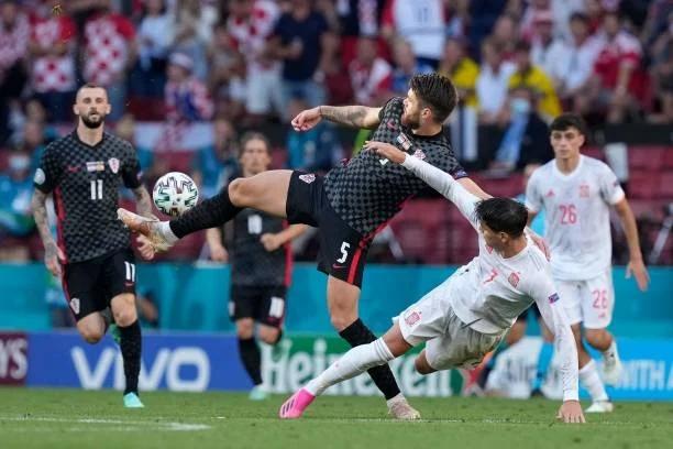 Croatia 3-5 Tây Ban Nha