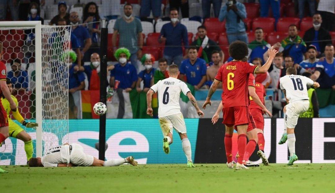 Bỉ 1-2 Italy